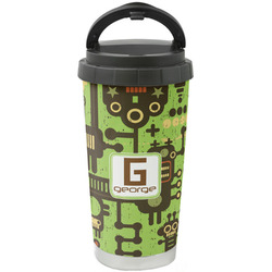 Industrial Robot 1 Stainless Steel Travel Mug (Personalized)
