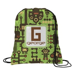 Industrial Robot 1 Drawstring Backpack (Personalized)