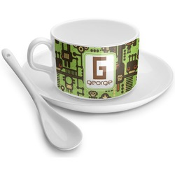 Industrial Robot 1 Tea Cup - Single (Personalized)
