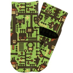 Industrial Robot 1 Toddler Ankle Socks (Personalized)
