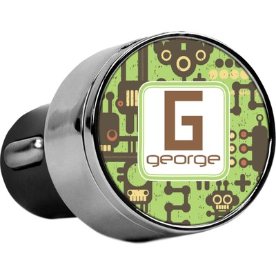 Industrial Robot 1 USB Car Charger (Personalized)