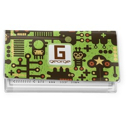 Industrial Robot 1 Vinyl Checkbook Cover (Personalized)