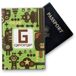 Industrial Robot 1 Vinyl Passport Holder (Personalized)