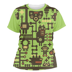 Industrial Robot 1 Women's Crew T-Shirt (Personalized)