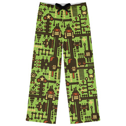 Industrial Robot 1 Womens Pajama Pants (Personalized)