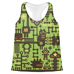 Industrial Robot 1 Womens Racerback Tank Top (Personalized)