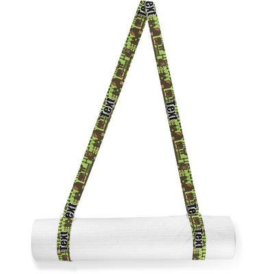 Industrial Robot 1 Yoga Mat Strap (Personalized)