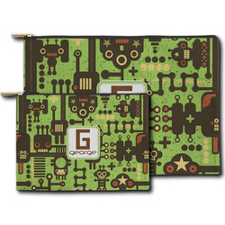 Industrial Robot 1 Zipper Pouch (Personalized)