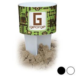 Industrial Robot 1 Beach Spiker Drink Holder (Personalized)