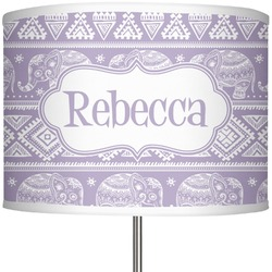 "Baby Elephant 13"" Drum Lamp Shade (Personalized)"