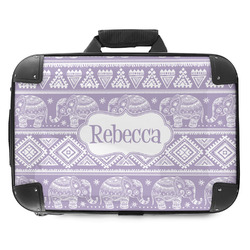 Baby Elephant Hard Shell Briefcase (Personalized)