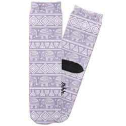 Baby Elephant Adult Crew Socks (Personalized)
