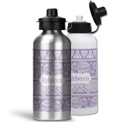 Baby Elephant Water Bottles- Aluminum (Personalized)