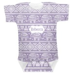 Baby Elephant Baby Bodysuit (Personalized)