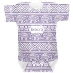 Baby Elephant Baby Bodysuit (Personalized)