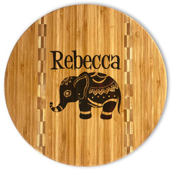 Baby Elephant Bamboo Cutting Board (Personalized)