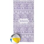 Baby Elephant Beach Towel (Personalized)