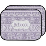 Baby Elephant Car Floor Mats (Back Seat) (Personalized)