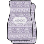 Baby Elephant Car Floor Mats (Front Seat) (Personalized)