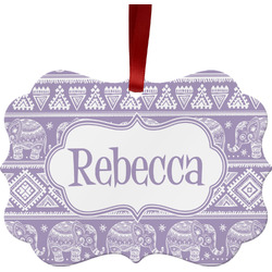 Baby Elephant Ornament (Personalized)