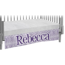 Baby Elephant Crib Skirt (Personalized)