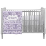 Baby Elephant Crib Comforter / Quilt (Personalized)