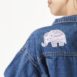 Baby Elephant Large Custom Shape Patch (Personalized)