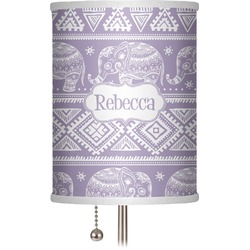 "Baby Elephant 7"" Drum Lamp Shade (Personalized)"
