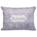"Baby Elephant Decorative Baby Pillowcase - 16""x12"" (Personalized)"
