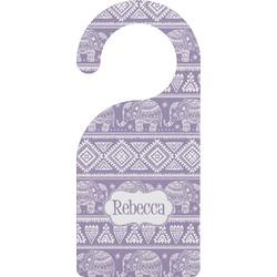 Baby Elephant Door Hanger (Personalized)