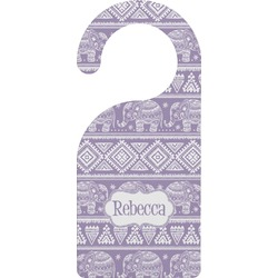Baby Elephant Door Hanger (Personalized)