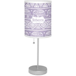 "Baby Elephant 7"" Drum Lamp with Shade (Personalized)"