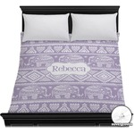 Baby Elephant Duvet Cover (Personalized)