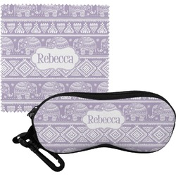 Baby Elephant Eyeglass Case & Cloth (Personalized)