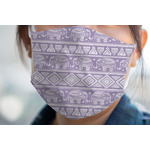 Baby Elephant Face Mask Cover (Personalized)