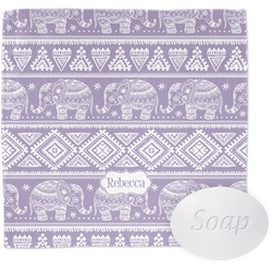 Baby Elephant Wash Cloth (Personalized)