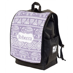 Baby Elephant Backpack w/ Front Flap  (Personalized)
