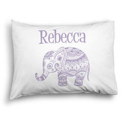 Baby Elephant Pillow Case - Standard - Graphic (Personalized)