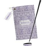 Baby Elephant Golf Towel Gift Set (Personalized)