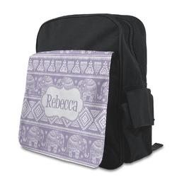 Baby Elephant Preschool Backpack (Personalized)