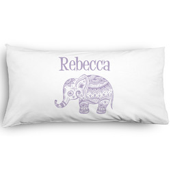 Baby Elephant Pillow Case - King - Graphic (Personalized)