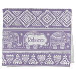 Baby Elephant Kitchen Towel - Full Print (Personalized)
