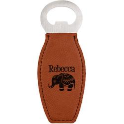 Baby Elephant Leatherette Bottle Opener (Personalized)