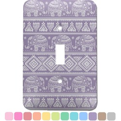 Baby Elephant Light Switch Cover (Single Toggle) (Personalized)
