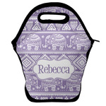 Baby Elephant Lunch Bag w/ Name or Text