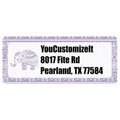 Baby Elephant Return Address Labels (Personalized)