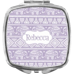 Baby Elephant Compact Makeup Mirror (Personalized)