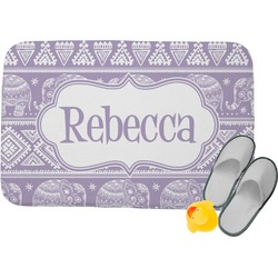 Baby Elephant Memory Foam Bath Mat (Personalized)