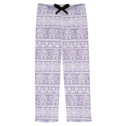 Baby Elephant Mens Pajama Pants (Personalized)