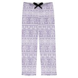 Baby Elephant Mens Pajama Pants (Personalized)